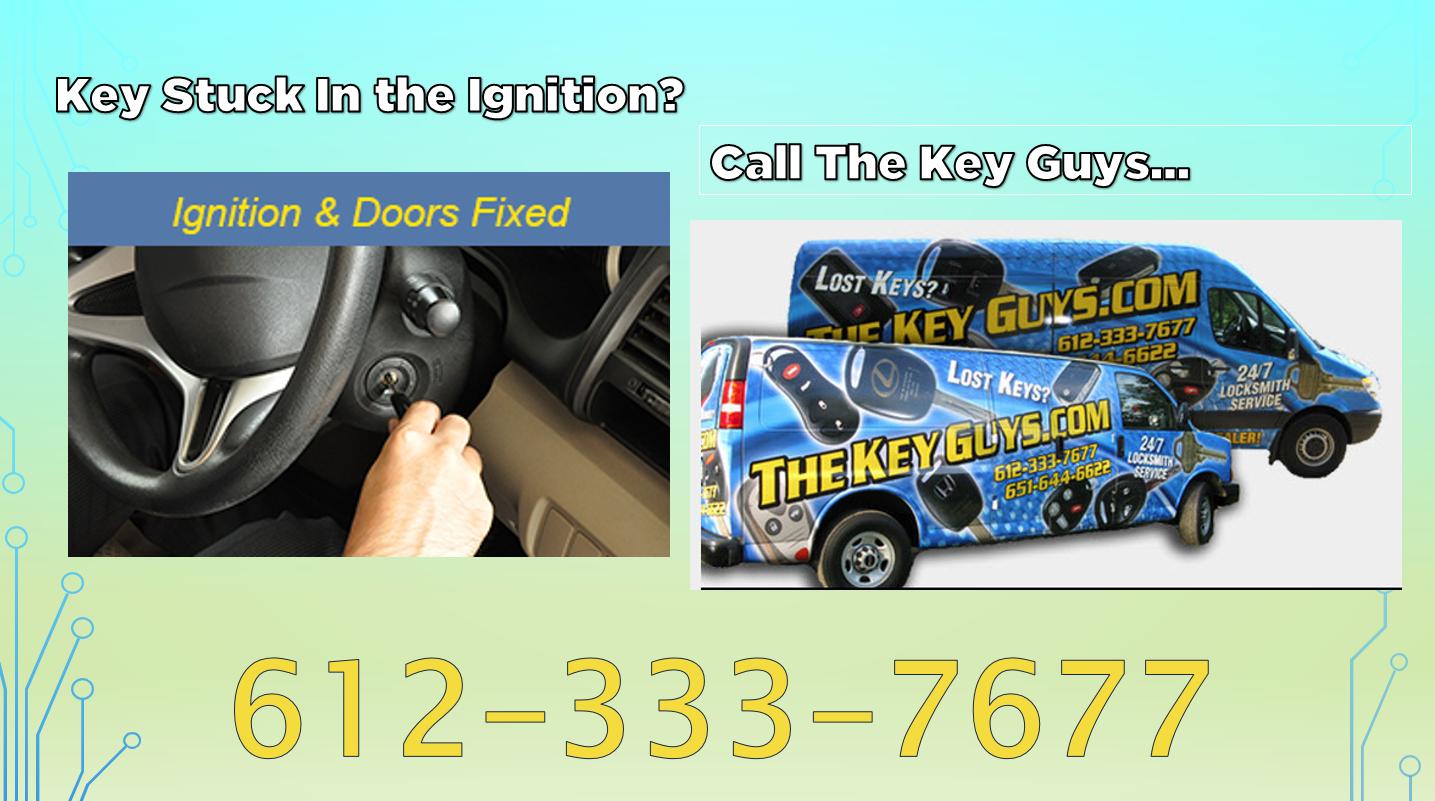 Car Key Gets Stuck In Door