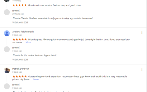 The Key Guys Get Great Reviews