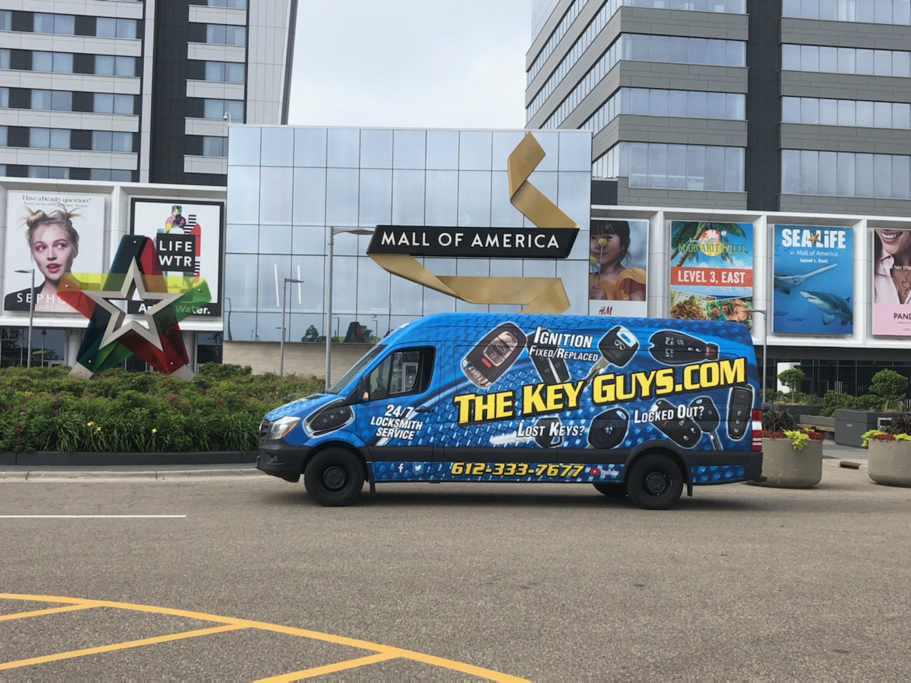 The Key Guys at Mall of America Bloomington MN